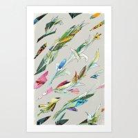 Plant Specimen 1 - Neutr… Art Print