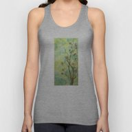 Branch With Flowers Unisex Tank Top