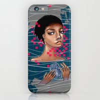 iPhone & iPod Case featuring cold as heart by AdiFish