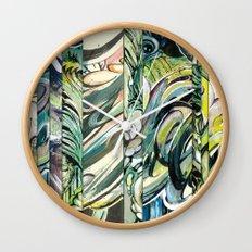 faded 4 Wall Clock