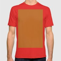 Liver (dogs) Mens Fitted Tee Red SMALL