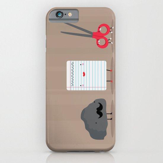 Rock paper scissors iPhone & iPod Case