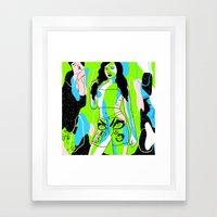 Permanent Construction Framed Art Print