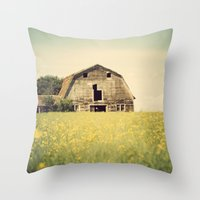 There will be a rainbow after the storm Throw Pillow