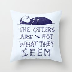 You Otter Know Throw Pillow