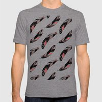 FEATHERS Mens Fitted Tee Tri-Grey SMALL