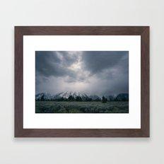 Grand Teton Framed Art Print