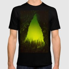 Toxic Forestry Mens Fitted Tee Black SMALL