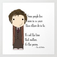 Doctor Who: It's Not The… Art Print
