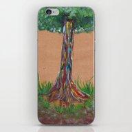 iPhone & iPod Skin featuring Rainbow Eucalyptus by KeithKarloff