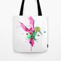 Hummingbird Skeleton Wat… Tote Bag