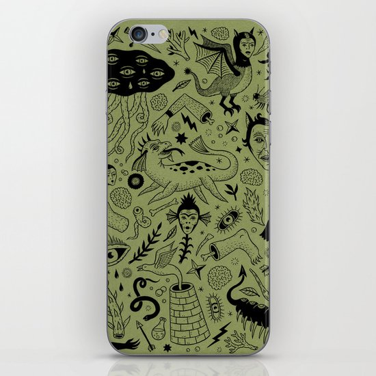 Curious Collection No. 2  iPhone & iPod Skin