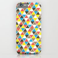 iPhone & iPod Case featuring Tribal Triangles by Elizabeth Caldwell