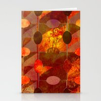 Scorched Earth. Stationery Cards