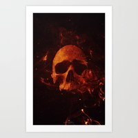 Ignitus Art Print
