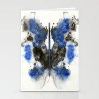 Blue Knight Stationery Cards