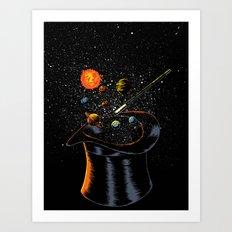 Origin Theory Art Print