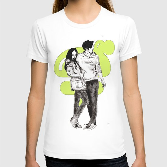 Japanee couple T-shirt