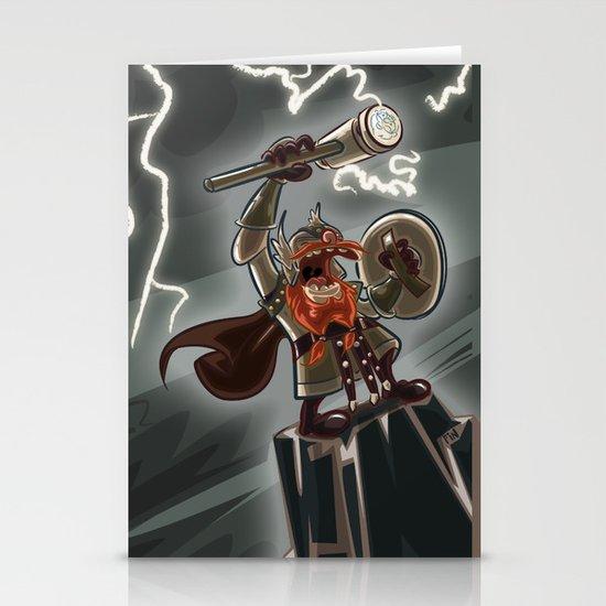 Bolt Thundersmite- Version2 Stationery Card