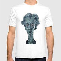 Sir Ian McKellen Mens Fitted Tee White SMALL