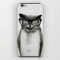 Mr. Owl iPhone & iPod Skin