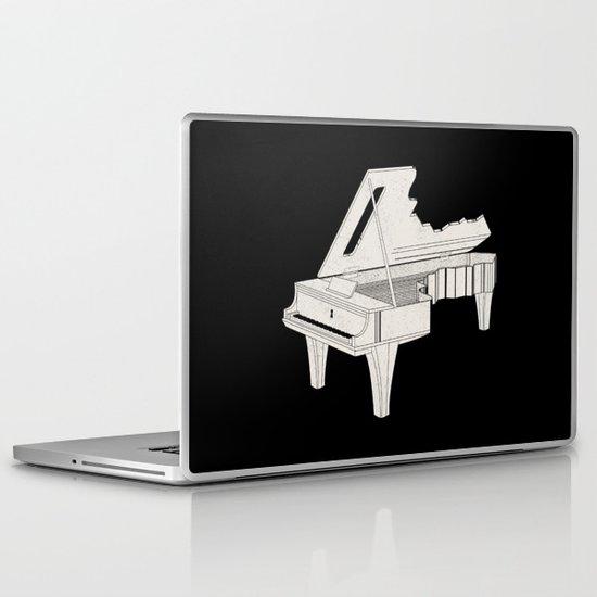 Music Is The Key. Laptop & iPad Skin