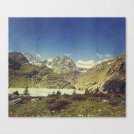 Take Me To The Mountains Canvas Print