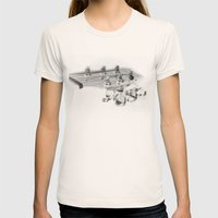 Tuners Womens Fitted Tee Natural SMALL