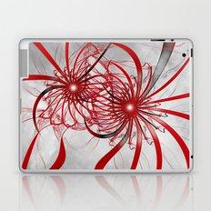 Red Stars Laptop & iPad Skin