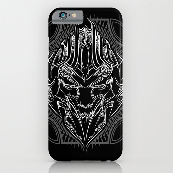 Pinstripe Megatron iPhone & iPod Case