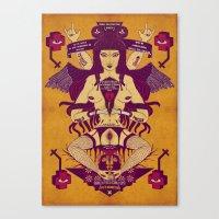 ZERO PROSPETTIVE Canvas Print