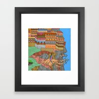 Cliff City Wizards Framed Art Print