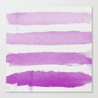 Purple Ombre  Canvas Print