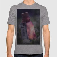 Drink Me Poison Mens Fitted Tee Athletic Grey SMALL