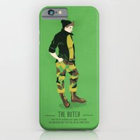 iPhone & iPod Case featuring The Butch - A Poster Guide to Gay Stereotypes by Paul Tuller