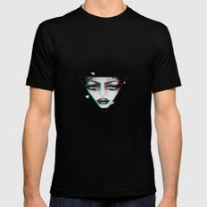 dimensional snap Mens Fitted Tee Black SMALL