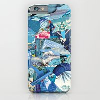 iPhone & iPod Case featuring Blue by Guilherme Lepca