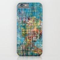 grid portrait iPhone 6 Slim Case