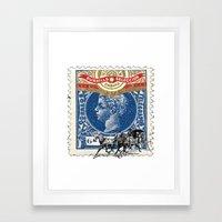 VINTAGE CUBA Framed Art Print