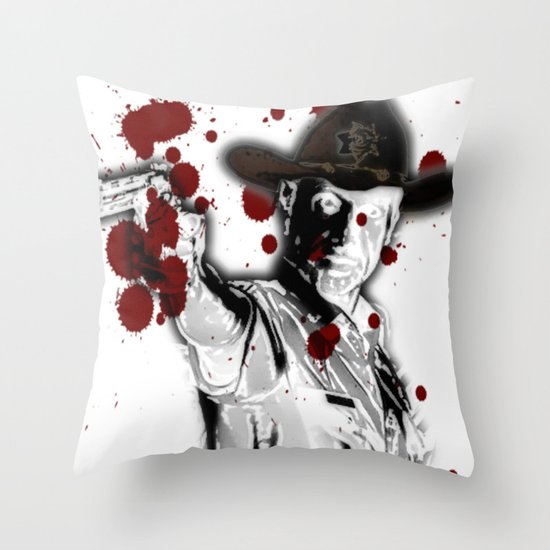 UNREAL PARTY 2012 THE WALKING DEAD Throw Pillow