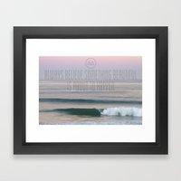 Sunrise In France, Hosse… Framed Art Print