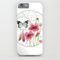 Dreamcatcher No. 2 - Butterfly Illustration iPhone 6 Slim Case