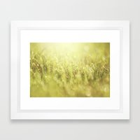 That Morning Thing Framed Art Print