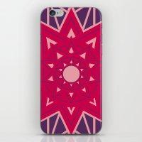 Geometric Star Mandala iPhone & iPod Skin