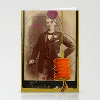 victorian gentleman  Stationery Cards