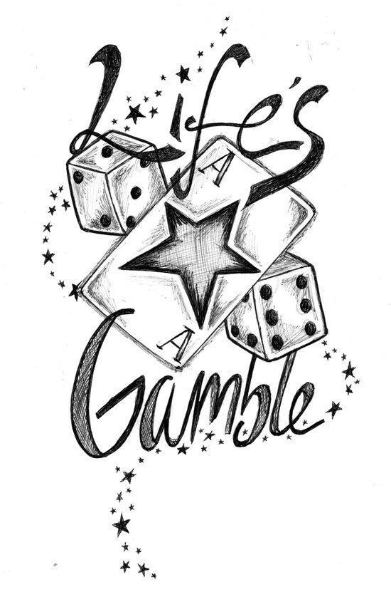 Life's A Gamble Art Print