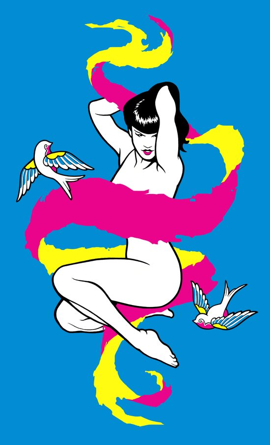 Betty Blue Art Print
