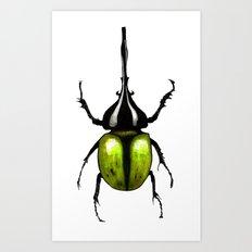 green bug Art Print