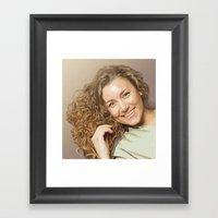 Lera Framed Art Print