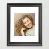 Lera Framed Art Print